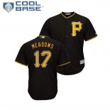 Maglia Baseball Uomo Pittsburgh Pirates Austin Meadows Cool Base Majestic Nero