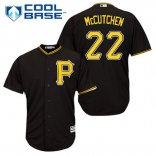 Maglia Baseball Uomo Pittsburgh Pirates Andrew Mccutchen 22 Nero Alterner Cool Base