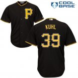 Maglia Baseball Uomo Pittsburgh Pirates Chad Kuhl Nero Cool Base