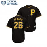 Maglia Baseball Uomo Pittsburgh Pirates Adam Frazier Cool Base Majestic Alterner Nero