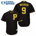 Maglia Baseball Uomo Pittsburgh Pirates Bill Mazeroski 9 Nero Alterner Cool Base