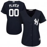 Maglia Baseball Donna New York Yankees Personalizzate Ngero