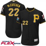 Maglia Baseball Uomo Pittsburgh Pirates Andrew Mccutchen 27 Nero Flex Base Autentico Collection On Field Allenamento Primaverile