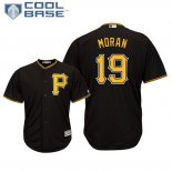 Maglia Baseball Uomo Pittsburgh Pirates Colin Moran Cool Base Majestic Alterner Nero