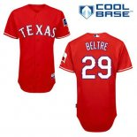 Maglia Baseball Uomo Texas Rangers Adrian Beltre 29 Rosso Alterner Cool Base