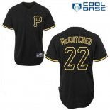 Maglia Baseball Uomo Pittsburgh Pirates Andrew Mccutchen 22 Nero Fashion Cool Base