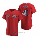 Maglia Baseball Uomo Boston Red Sox Chris Sale Autentico Alternato 2020 Rosso