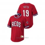 Maglia Baseball Uomo Cincinnati Reds Joey Votto Cooperstown Collection Rosso