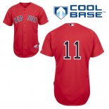 Maglia Baseball Uomo Boston Red Sox 11 Clay Buchholz Rosso Alterner Cool Base