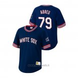 Maglia Baseball Uomo Chicago White Sox Jose Abreu Cooperstown Collection Blu