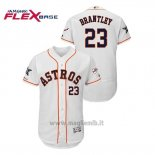 Maglia Baseball Uomo Houston Astros Michael Brantley 2019 All Star Flex Base Bianco